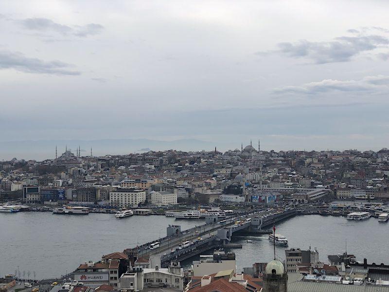 Galata Kulesi Manzarası
