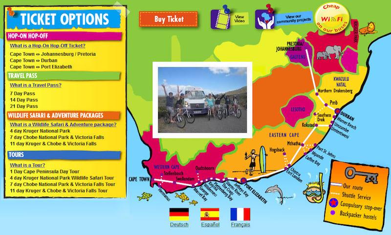 Güney Afrika'da Şehirlerarası Ulaşım Seçenekleri