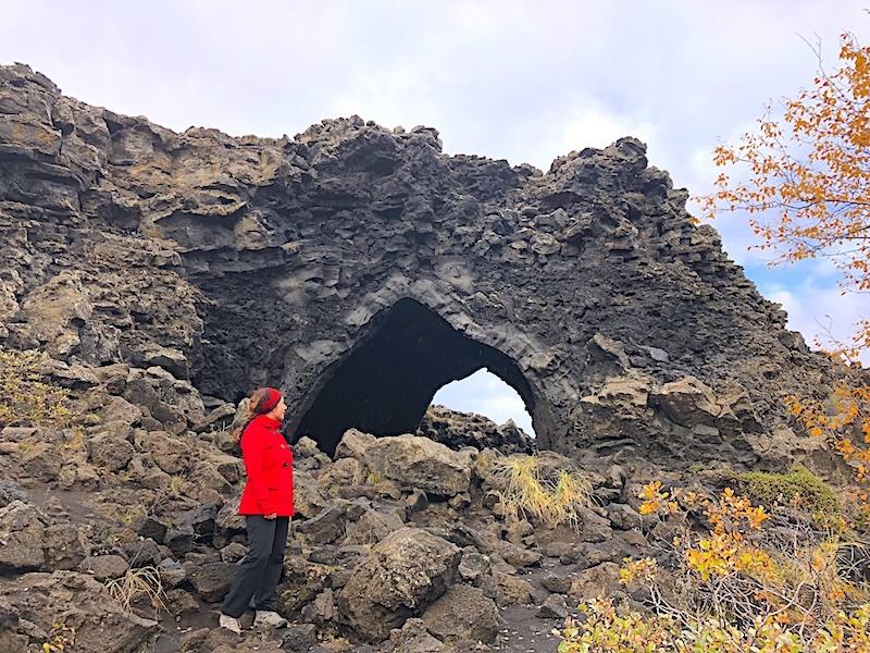 Dimmuborgir Kayalıkları