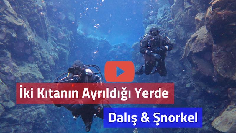 Silfra dalış videosu