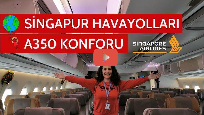 Singapur Havayolları A350 Tanıtım Videosu