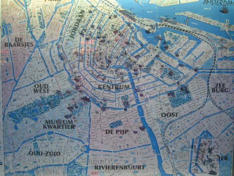 Amsterdam haritası