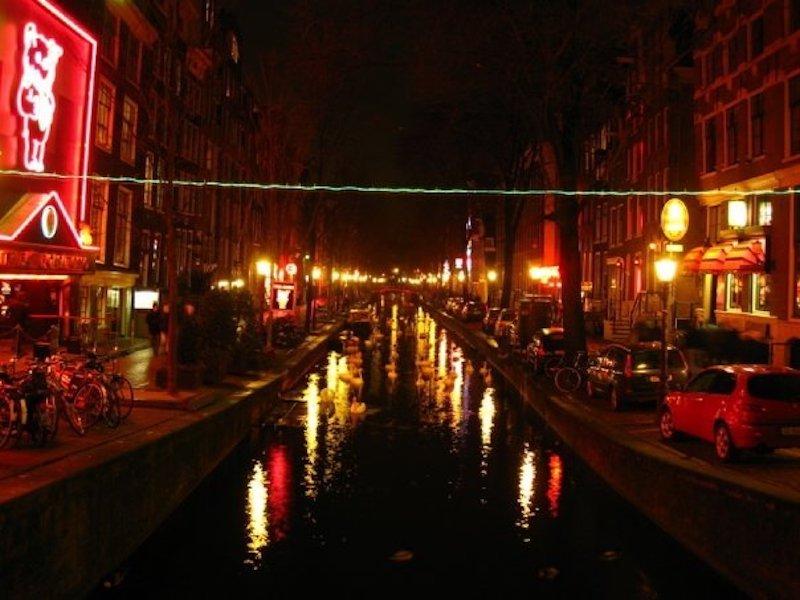 Amsterdam Red Light Bölgesi
