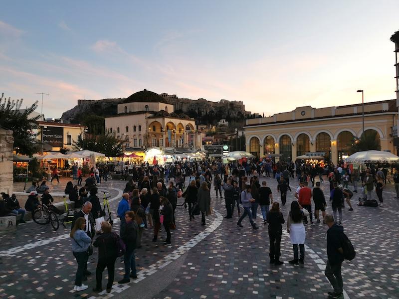 Monastraki Meydanı