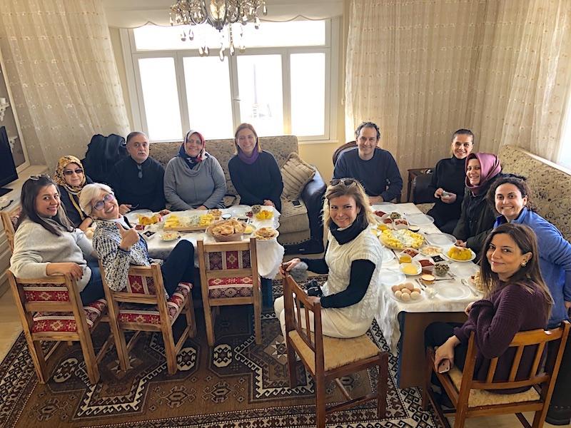 Boğatepe Köyü'nde Kahvaltı