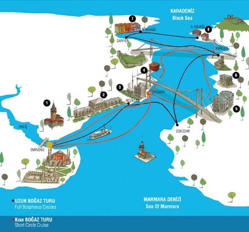 Şehir Hatları Vapuru ile Boğaz Turu