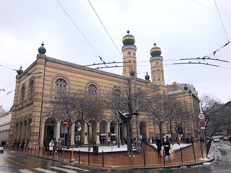 Budapeşte gezilecek yerler - Büyük Sinagog