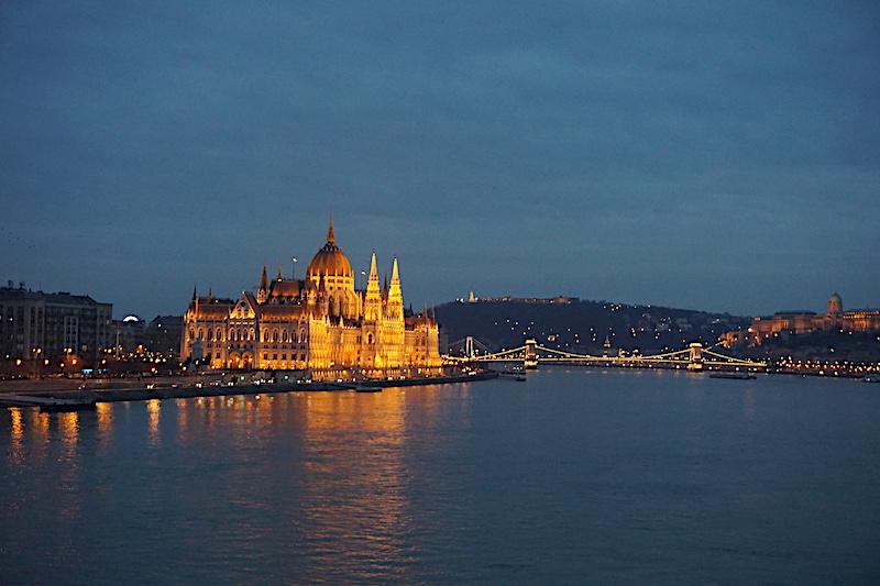 Budapeşte gezilecek yerler - Margeret Köprüsü'nden manzara