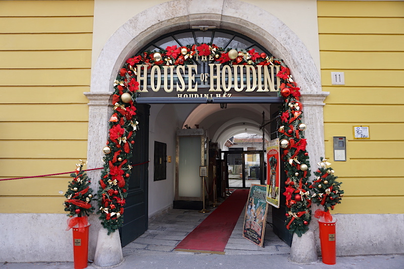 Budapeşte gezilecek yerler - House of Houdini
