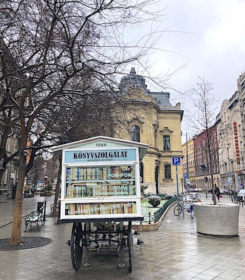 Budapeşte gezilecek yerler - Metropolitan Ervin Szabó Kütüphanesi