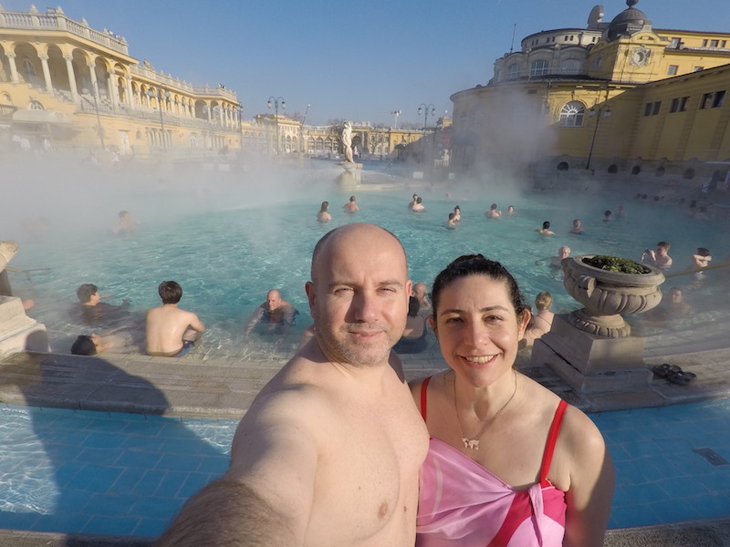 Budapeşte gezilecek yerler  - Szechenyi Kaplıcası