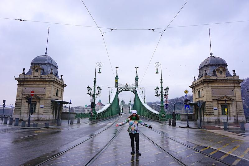 Budapeşte gezilecek yerler - Yeşil Köprü