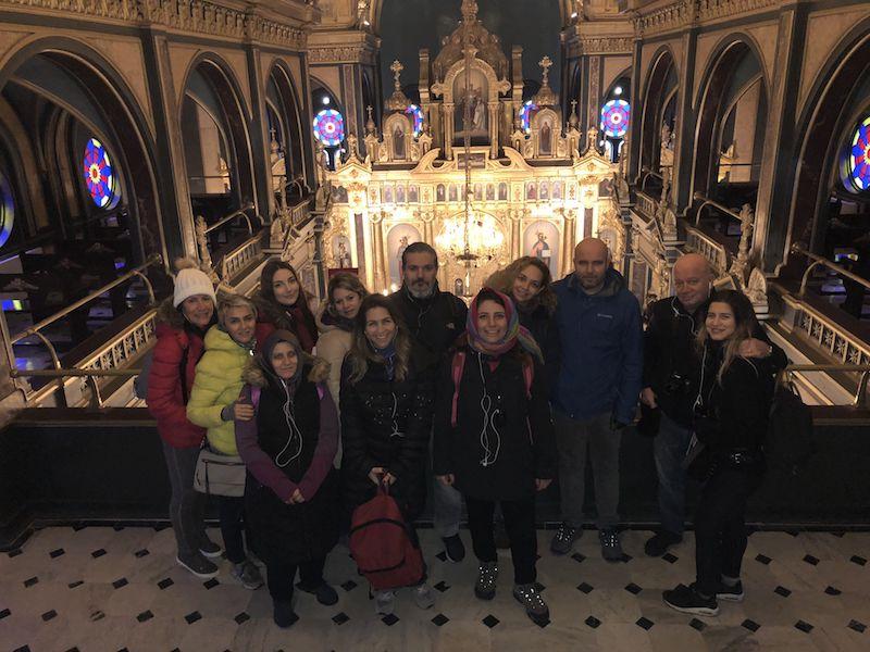 Sveti Stefan, Bulgar Kilisesi veya Demir Kilise