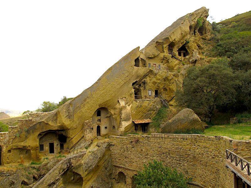 David Gareji mağaralarından bir kısmı