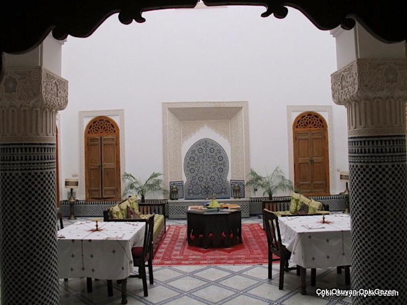 Fes'te nerede kalınır? Riad Boustan