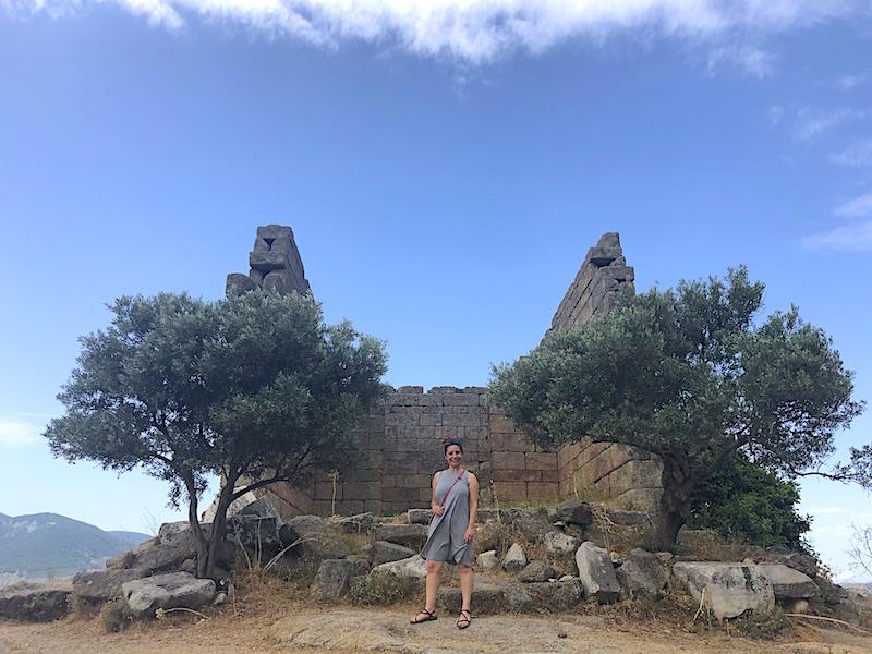 Heraklia Antik Kenti - Yukarı Surları