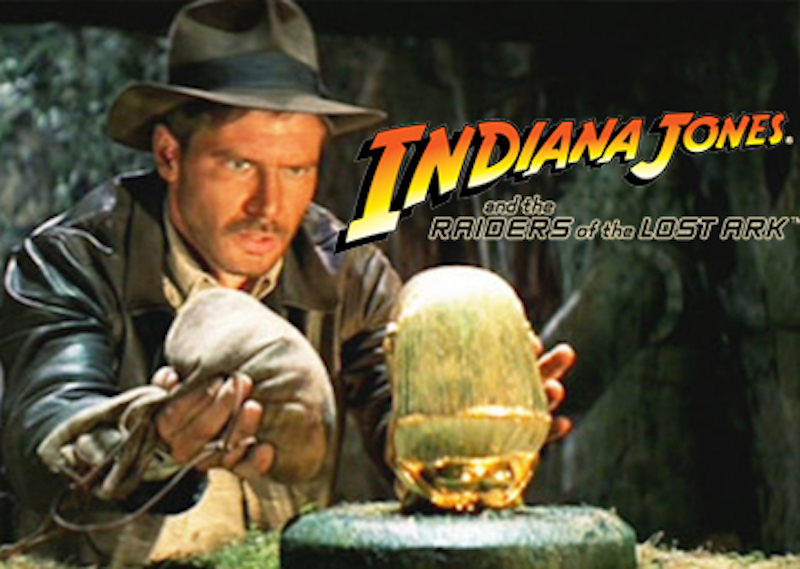 Piramitlerde Geçen Filmler - Indiana Jones
