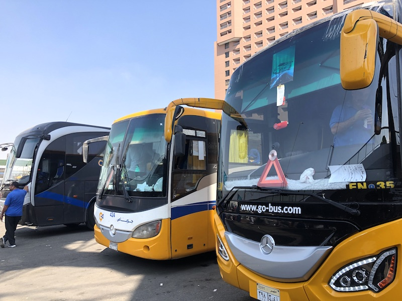 İskenderiye'ye Otobüs ile Ulaşım
