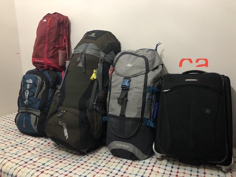 İzlanda gezi rehberi - çantalar