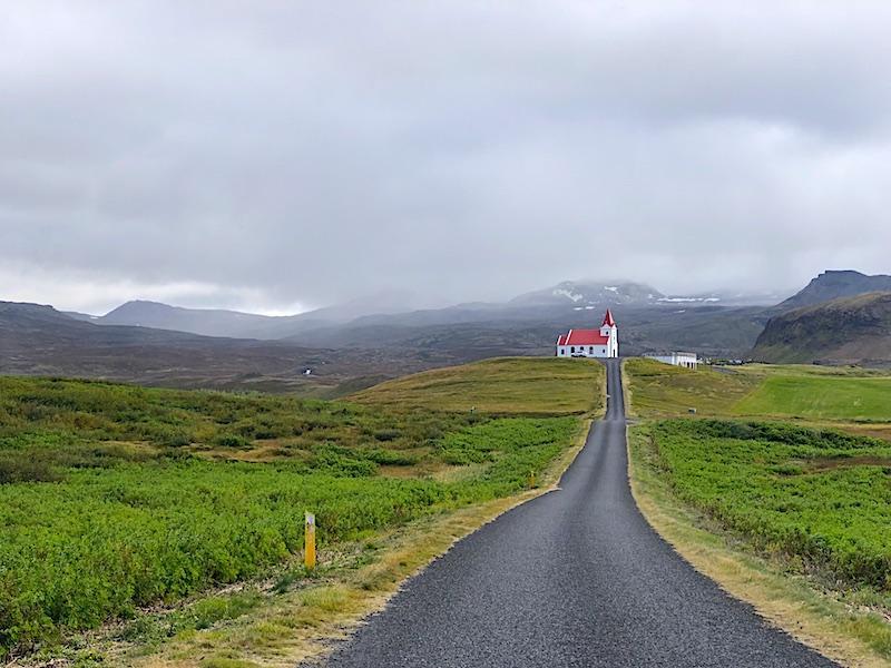 İzlanda Ring Road Rotası - Kırmızı Kilise