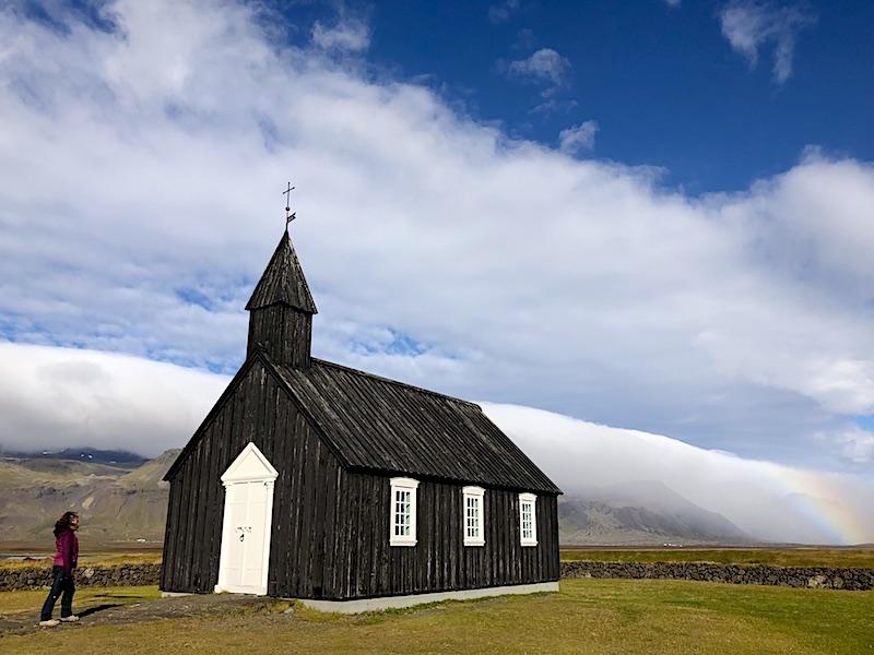 Budakirkja / Siyah Kilise