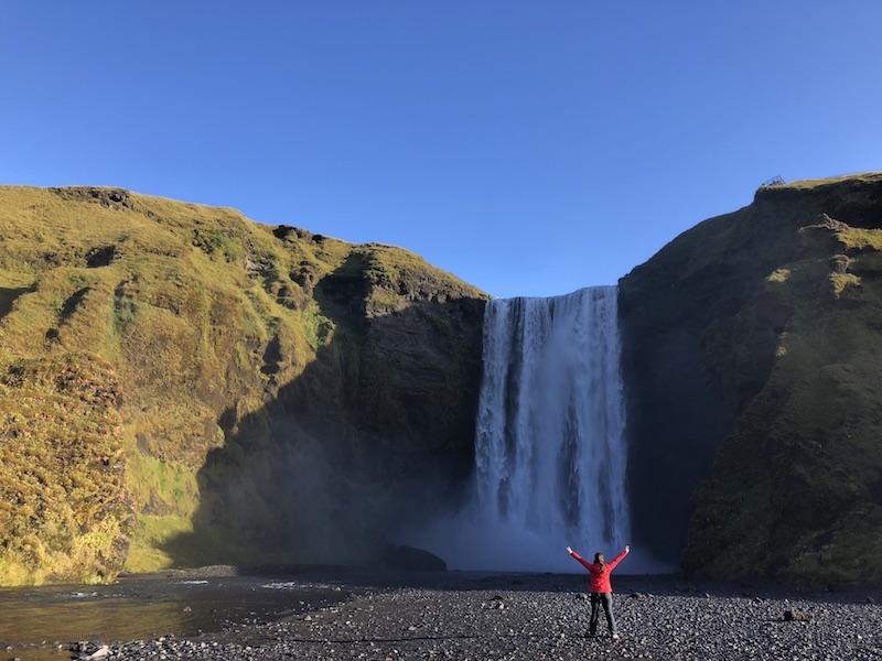 Skogafoss, İzlanda