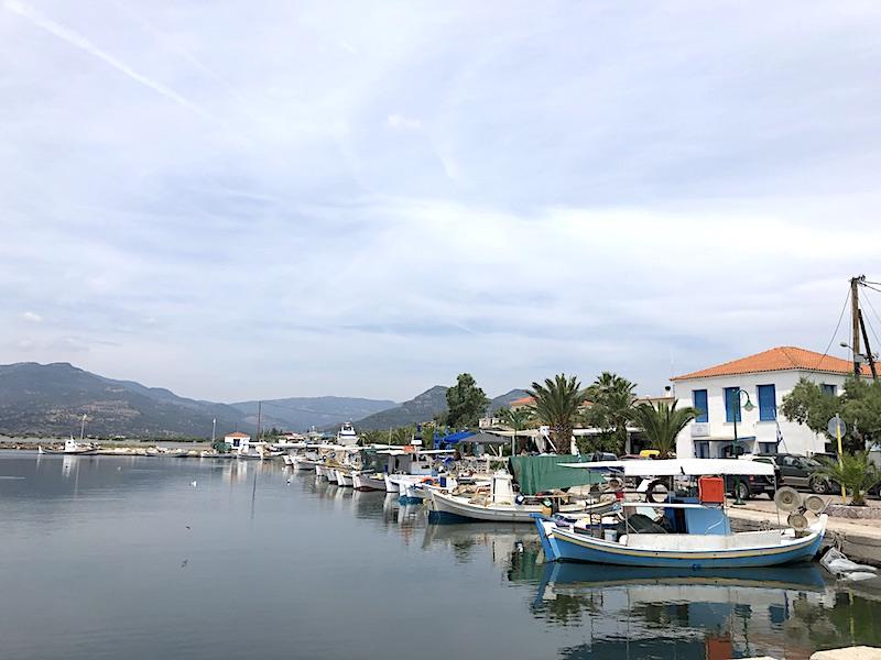 Midilli gezilecek yerler - Kalloni Kasabası