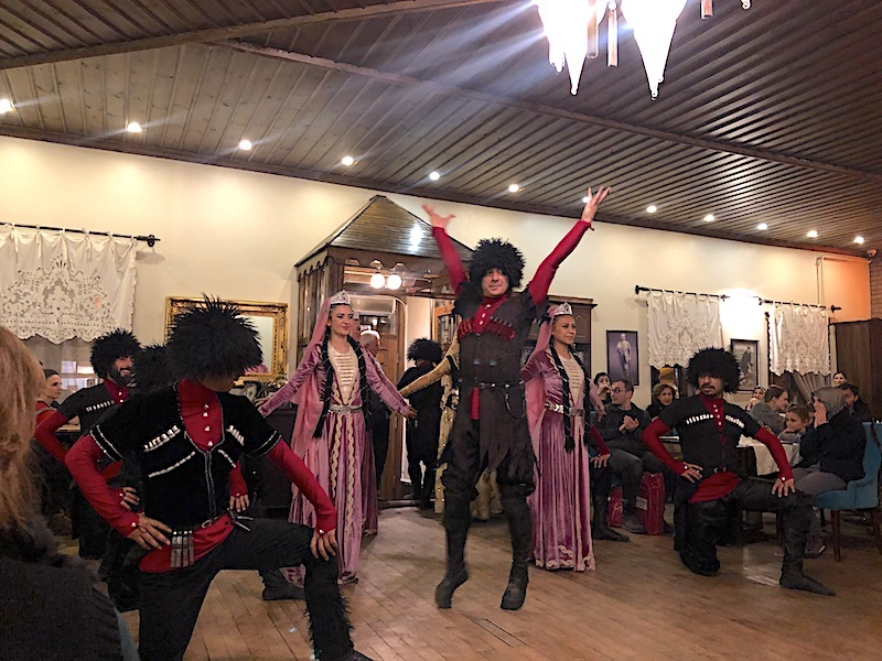 Kars Kafkas Dansı Gösterileri