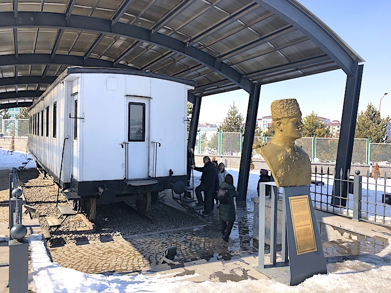 Kafkas Cephesi Müzesi - Kazım Karabekir Paşa'ya hediye edilen vagon