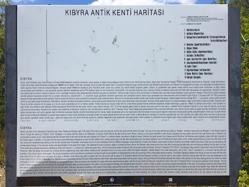 Kibyra Antik Kenti Hakkında