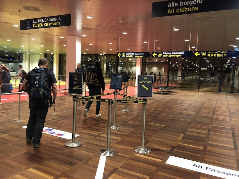 Kopenhag Havaalanı pasaport sırası