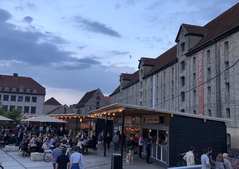 Kopenhag'da street food kültürü