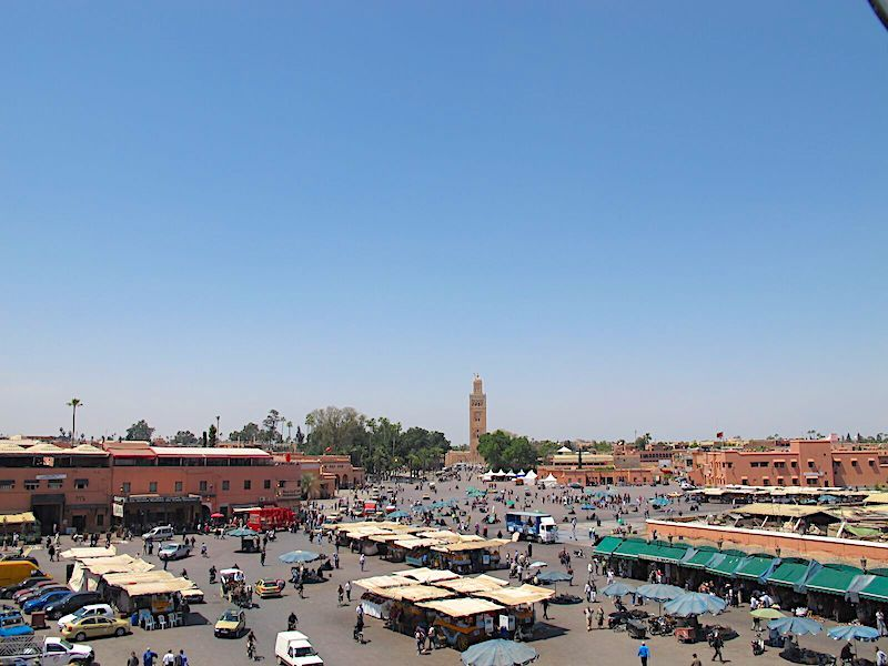 Marakeş Kıyamet Meydanı, Fas