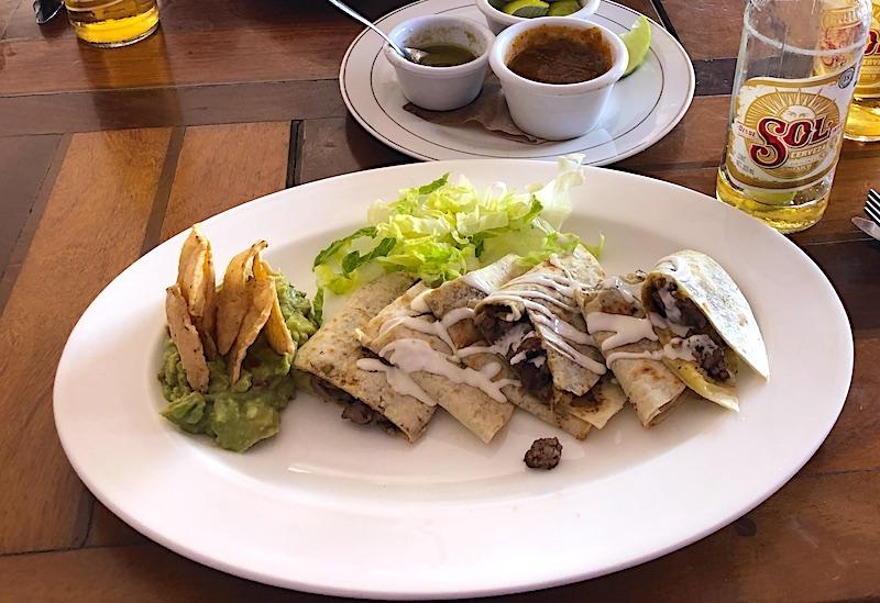 Meksika yemekleri - quesedilla