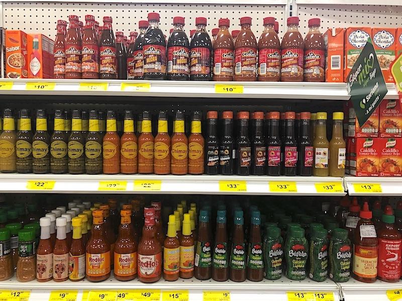 Meksika - sos çeşitleri