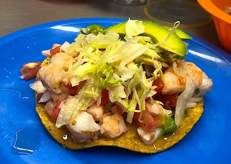Meksika yemekleri - Tostada
