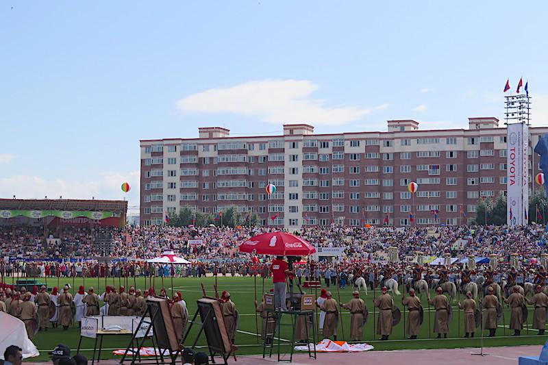 Ulanbatur Ulusal Stadyum - Naadam Festivali