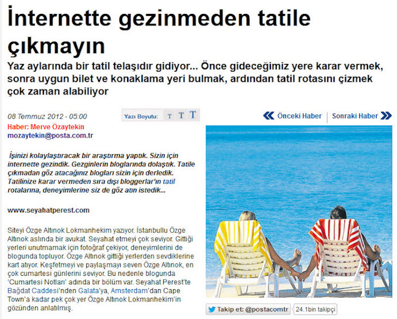 Posta Gazetesi Haberi