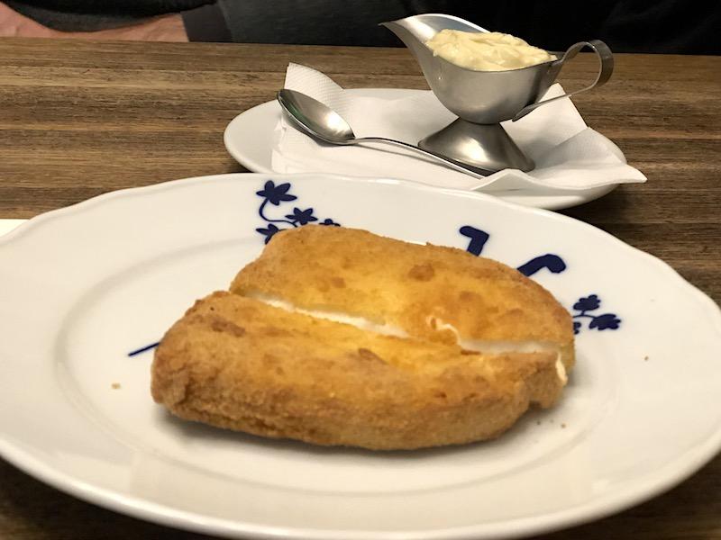 Kızarmış Peynir - Smažený sýr