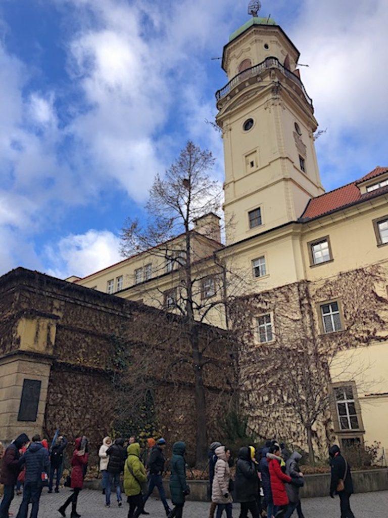 Prag gezilecek yerler - Klementinum Kulesi
