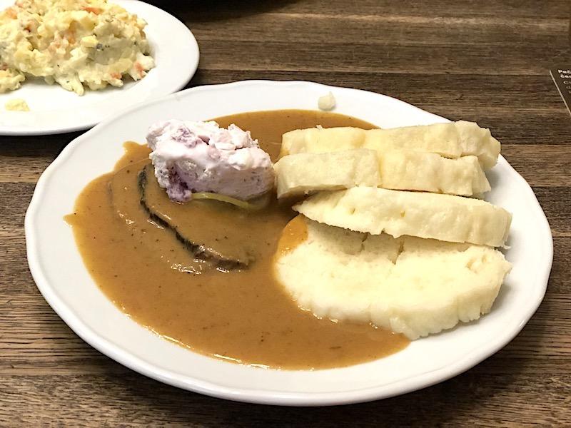 Svickova – Soslu ve Baharatlı Rosto Biftek