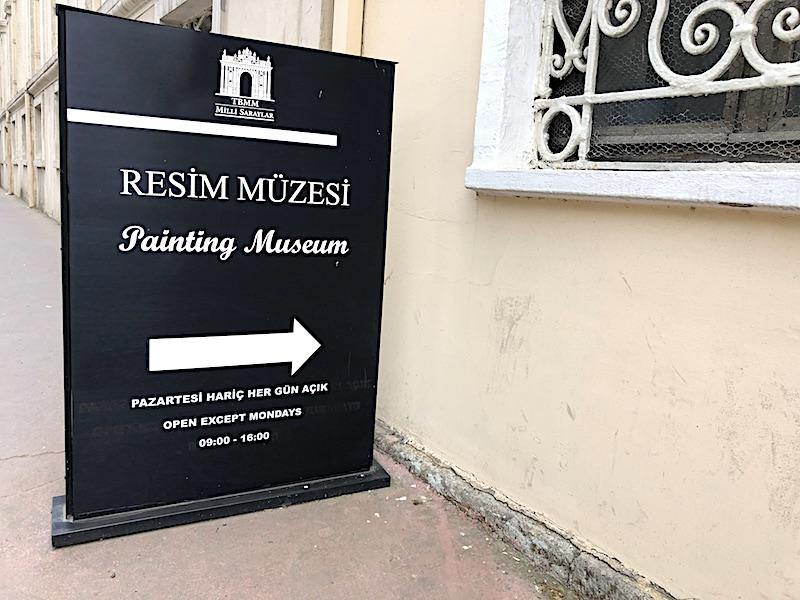 Milli Saraylar Resim Müzesi Ziyaret Saatleri