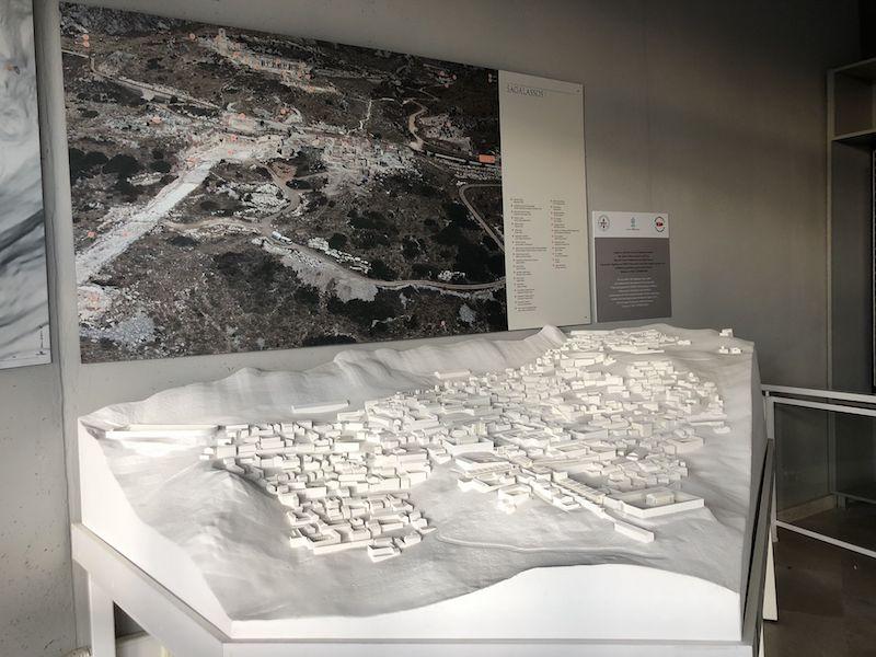 Sagalassos Antik Kenti maketi