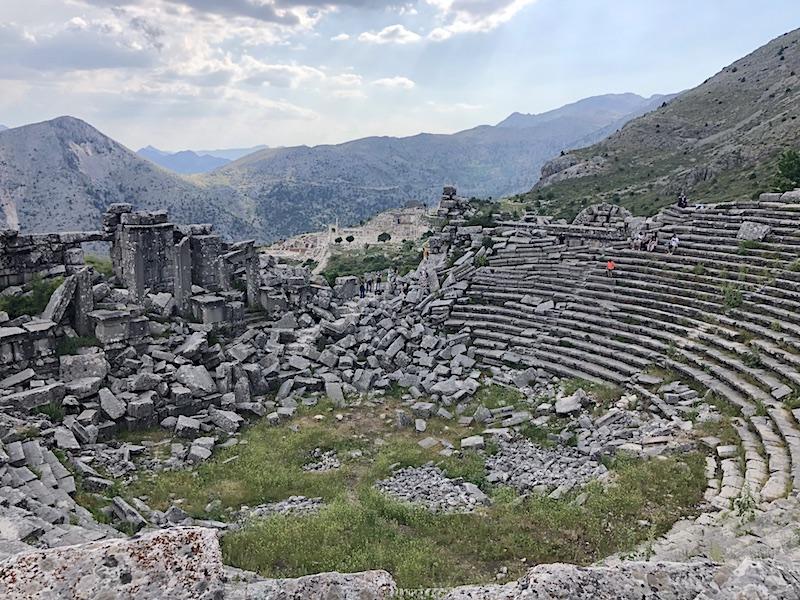 Sagalassos Antik Kenti tiyatrosu