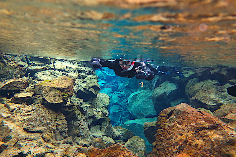Thingvellir Ulusal Parkı ve Silfra