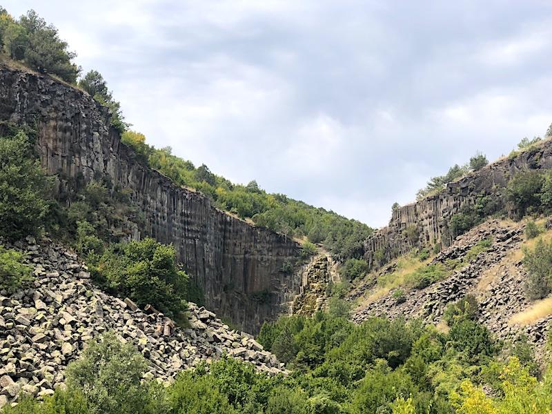 Bazalt Kayalıkları Tabiat Anıtı, Boyabat