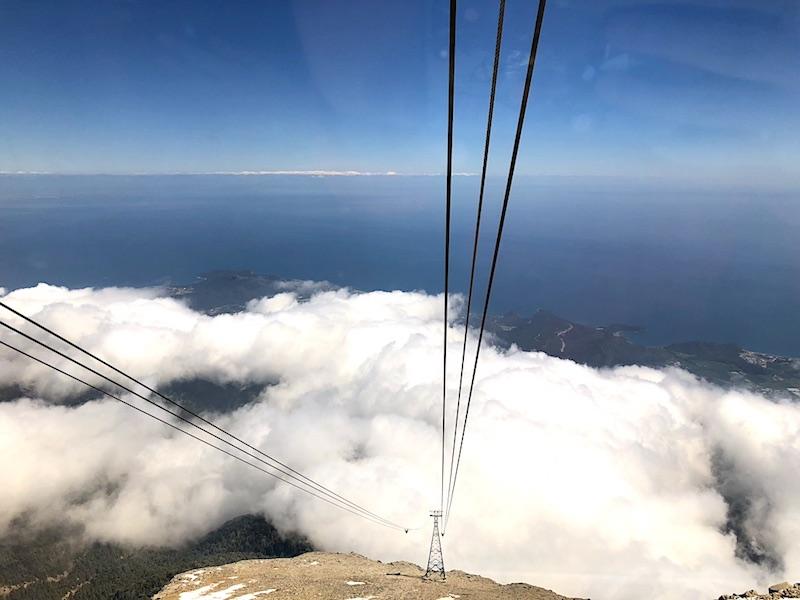 Teleferikle Tahtalı Dağı - Olimpos Teleferiği