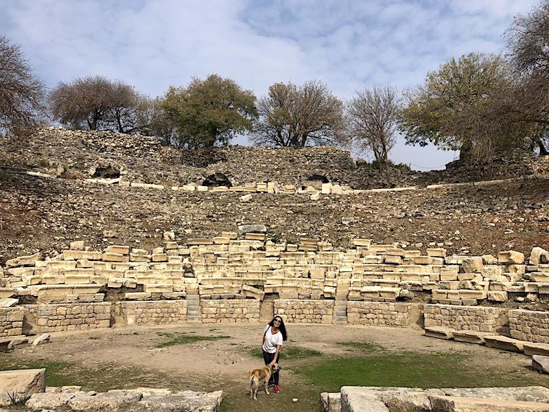 Teos Antik Kenti Tiyatrosu