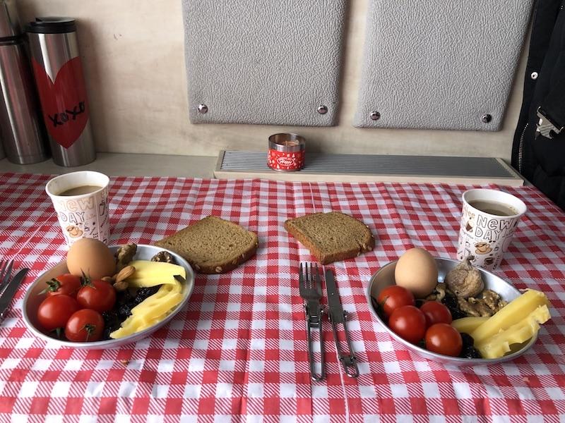 Van Gölü Ekspresi - Kahvaltı
