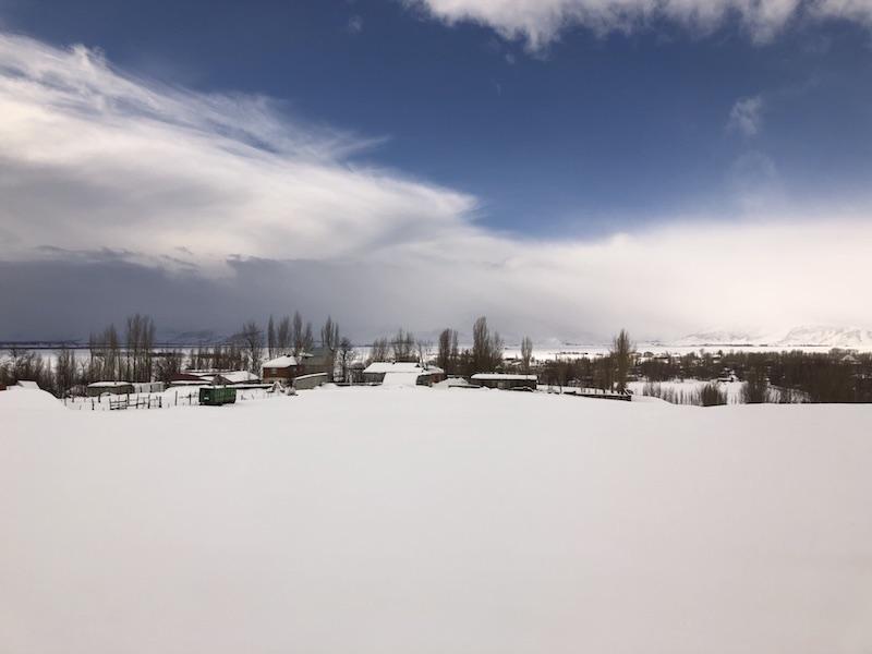 Van Gölü Ekspresi Yol Manzaraları